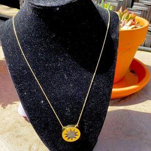 """House of Harlow 1960 Sunburst Necklace 18"""""""